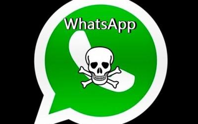 ¡Cuidado con mensaje de WhatsApp falso!